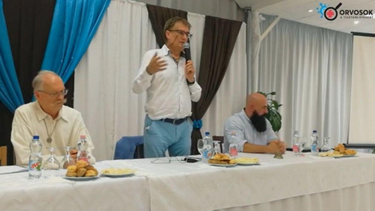 Orvosok a tisztánlátásért konferencia Debrecenben, Dr. Tamasi József előadása