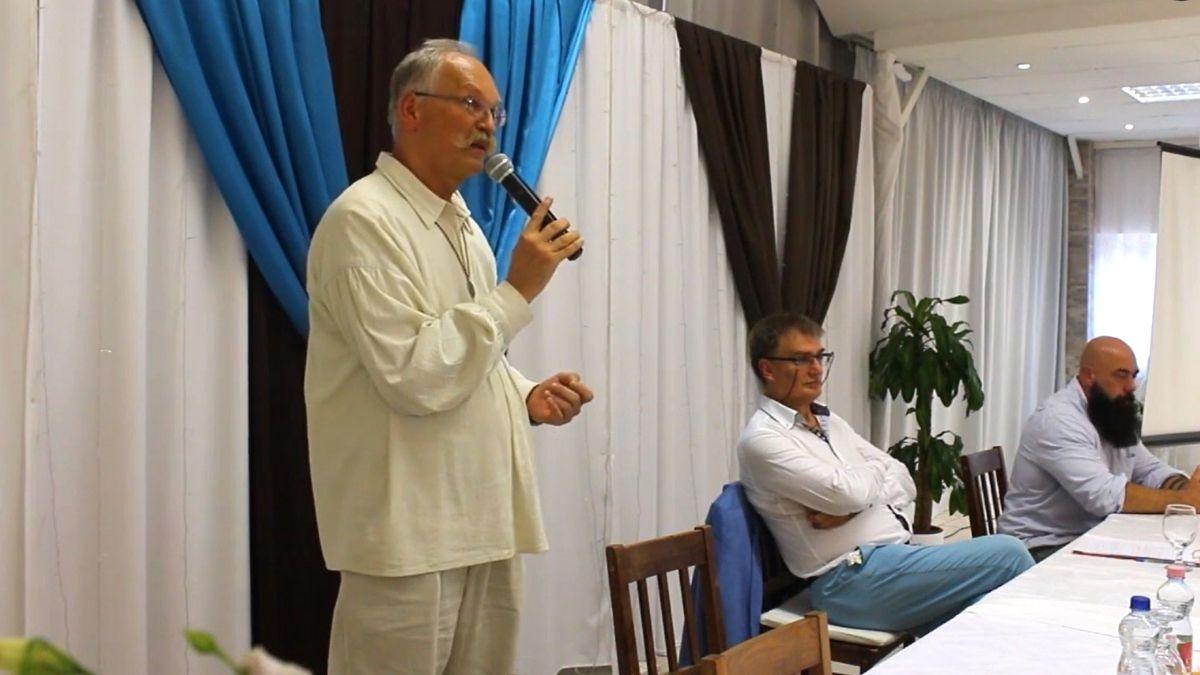 Orvosok a tisztánlátásért konferencia Debrecenben, Dr. Pócs Alfréd előadása