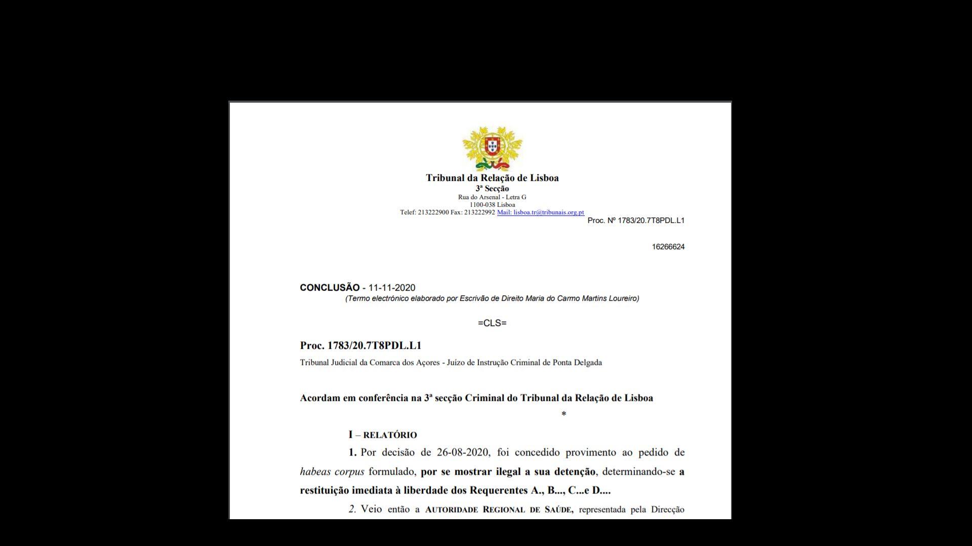 A portugál fellebviteli bíróság kimondta a PCR tesztek megbízhatatlanságát