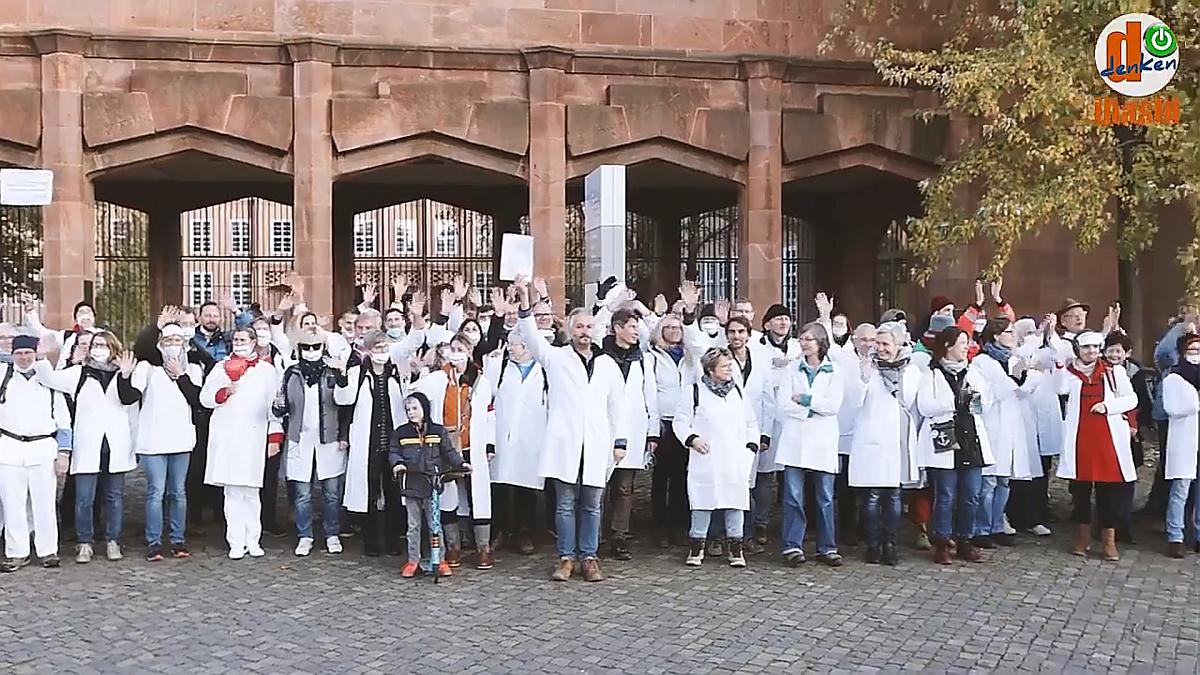 """A lipcsei bátor orvosok kiállnak a """"járvány"""" ellen"""