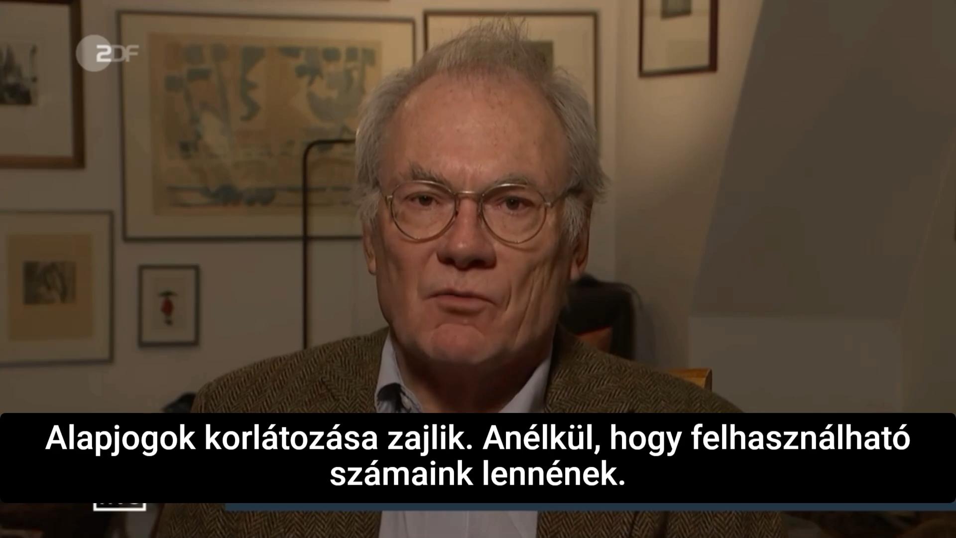 Professzor Matthias Schrappe, infektológus – A SZÁMOK SEMMIT NEM ÉRNEK!