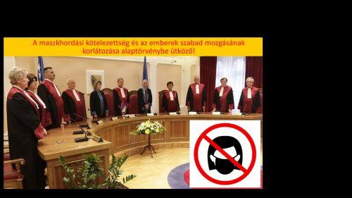 Boszniai Alkotmánybíróság súlyosan elítélte a maszkviselést és az intézkedéseket