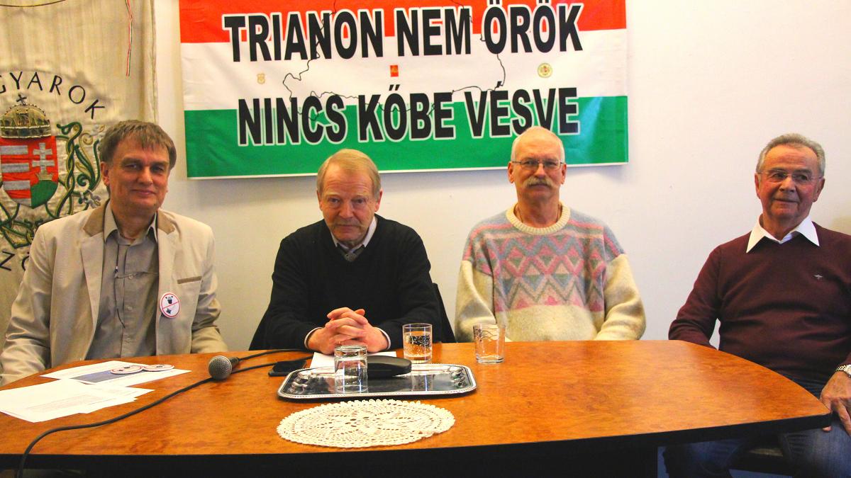 Sajtótájékoztató, Orvosok a Tisztánlátásért és Magyarok Világszövetsége