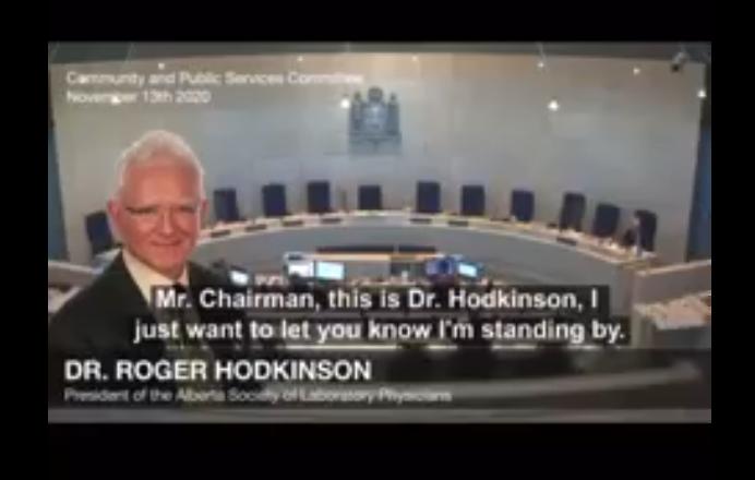 Dr. Roger Hodkinson interview