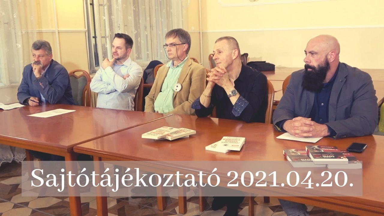 Sajtótájékoztató 2021.04.20.