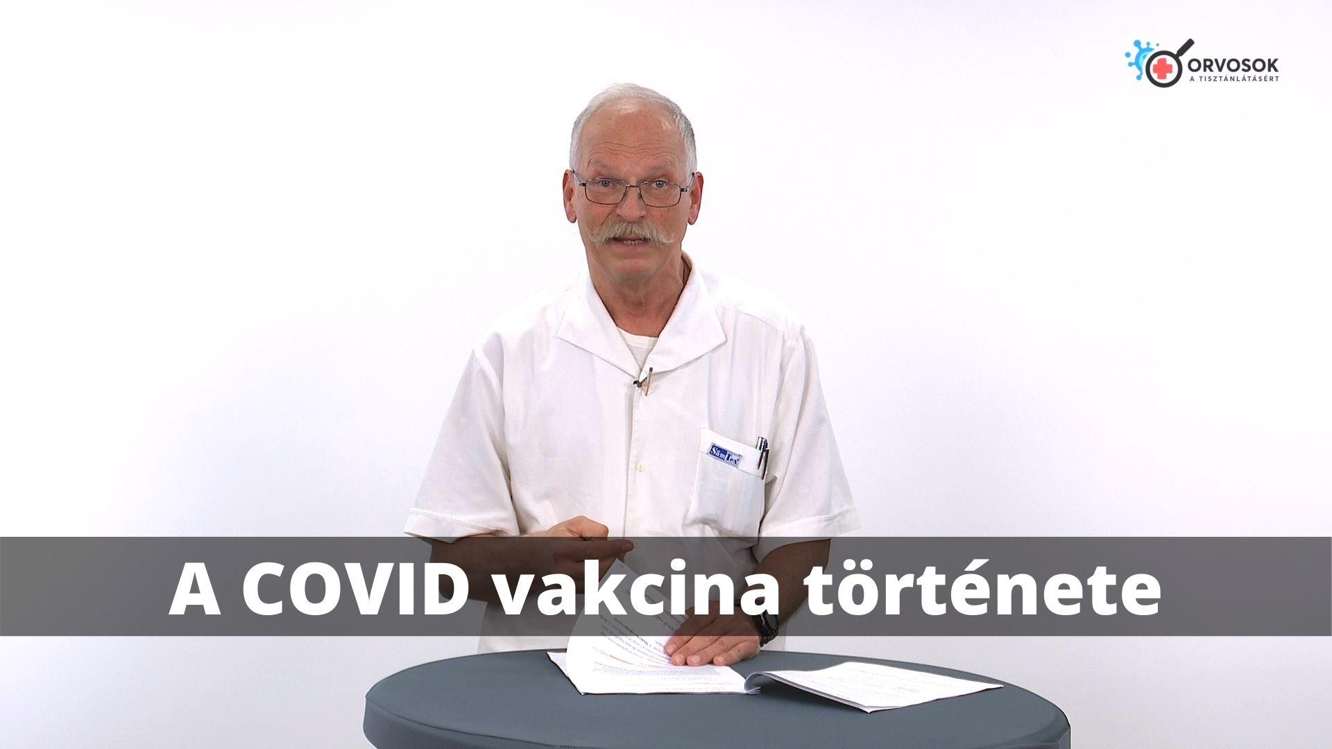 A COVID vakcina története