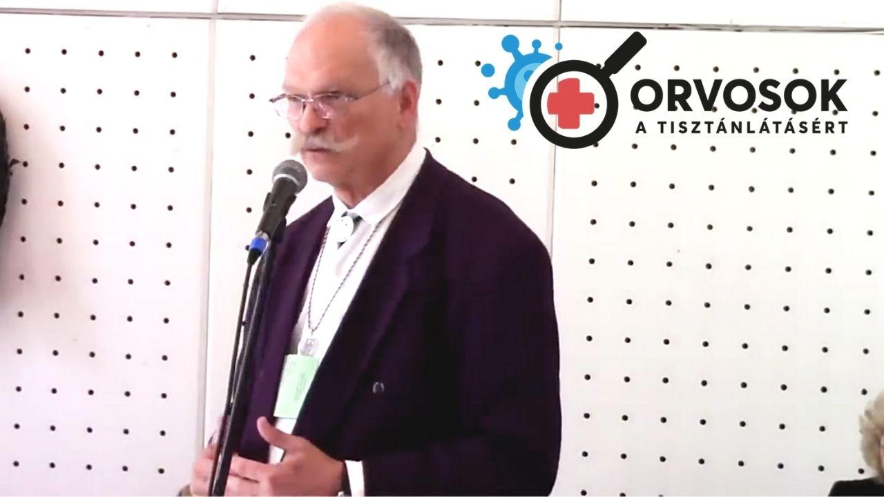 Dr. Pócs Alfréd beszéde 2021. május 15-én