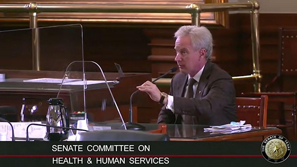 Dr. Peter McCullough a texasi szenátus HHS bizottságának tanúskodik