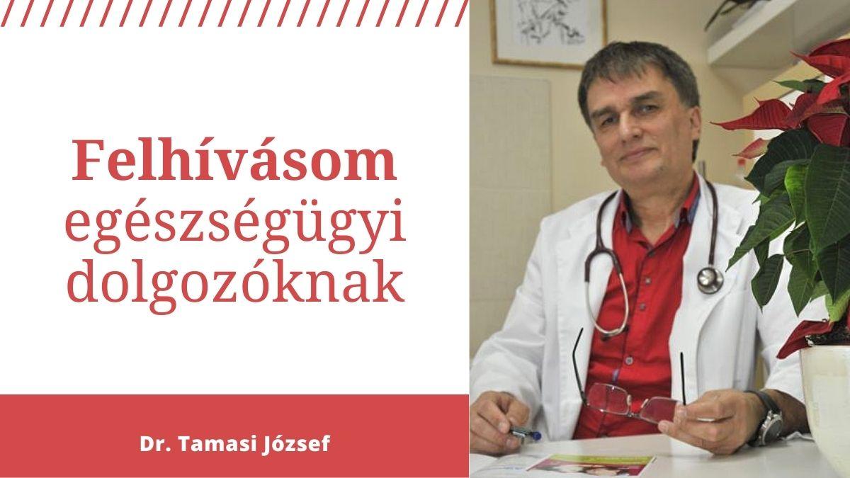 Egészségügyi dolgozók felé felhívásom