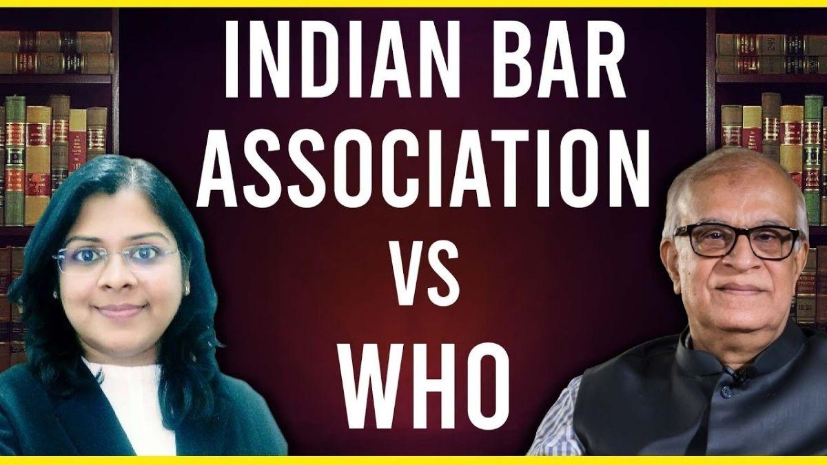 Indiai ügyvédek a WHO ellen